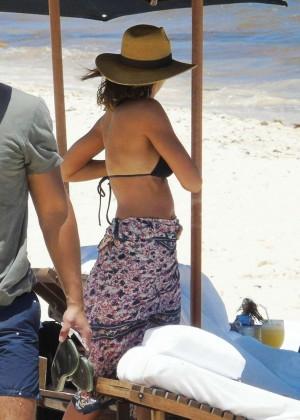 Jessica Alba: Bikini candids in Cancun-41