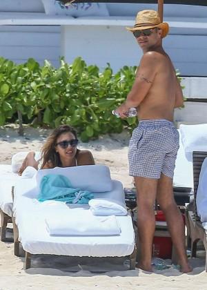 Jessica Alba: Bikini candids in Cancun-48