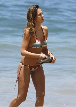 Jessica Alba: Bikini 2016-01