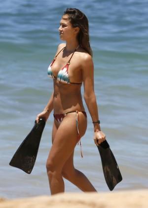 Jessica Alba: Bikini 2016-18