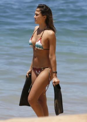 Jessica Alba: Bikini 2016-20