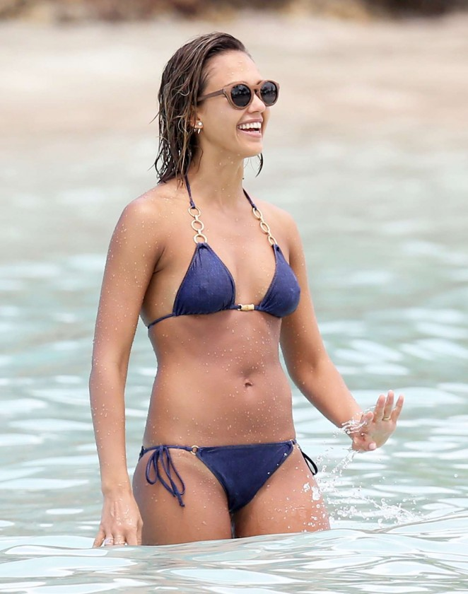 Final, sorry, jessica alba blue bikini