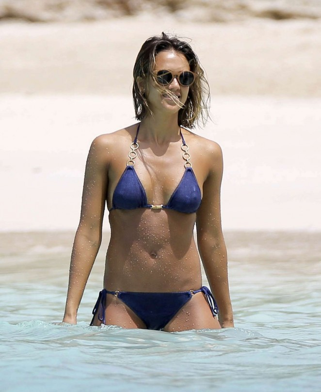 Pity, that jessica alba blue bikini