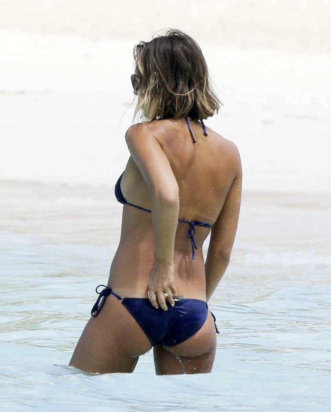 Very jessica alba blue bikini you