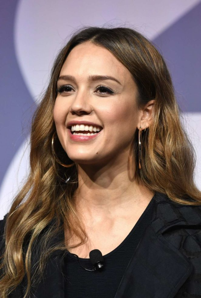 Jessica Alba - Building a Brand in a Mobile First World at Advertising Week 2017 in NY