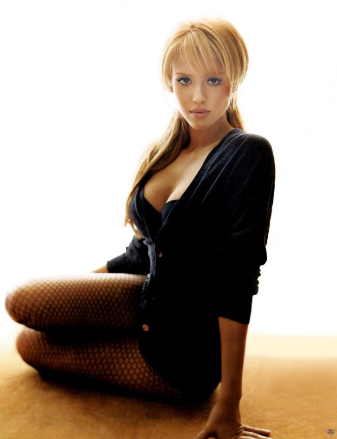 Jessica Alba by Robert Maxwell Shoot for Complex 2005