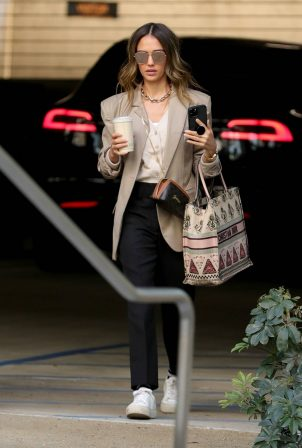 Jessica Alba - Carrying a Christian Dior bag in Los Angeles