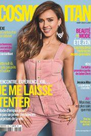 Jessica Alba - Cosmopolitan France Magazine (August 2019)