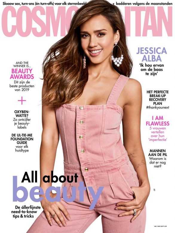 Jessica Alba - Cosmopolitan Netherlands Magazine (November 2019)