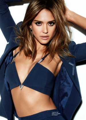 Jessica Alba - Cosmopolitan UK Magazine (April 2016)