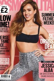 Jessica Alba - Cosmopolitan UK Magazine (August 2019)