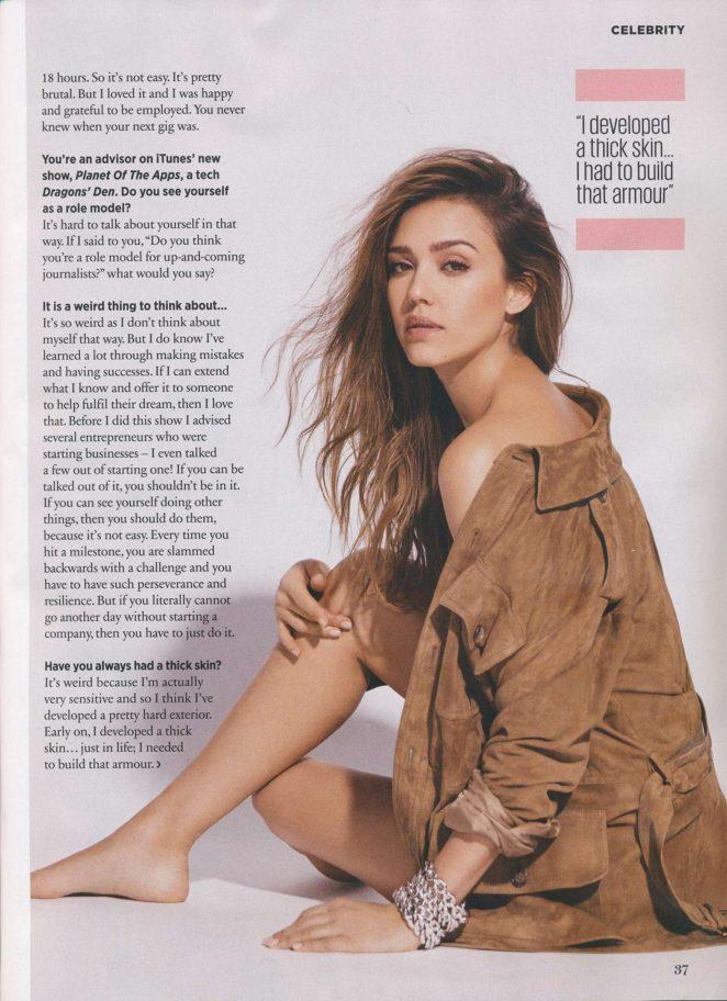 Jessica Alba - Cosmopolitan UK (September 2017)