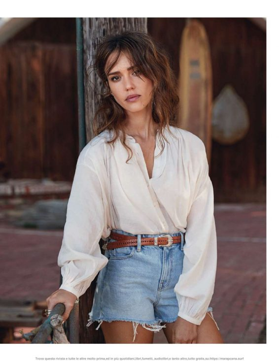 Jessica Alba - Elle Italy Magazine (July 2019)