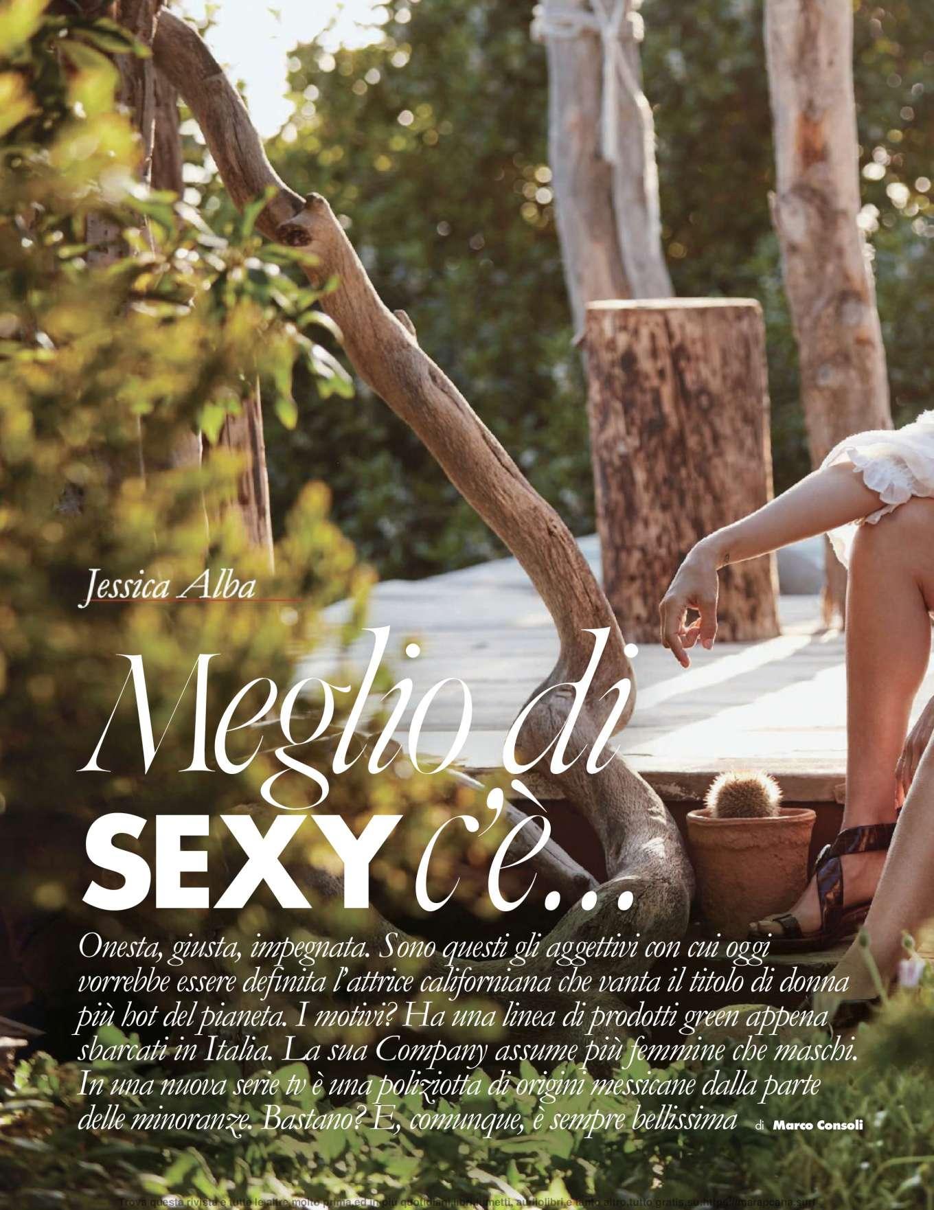 Jessica Alba – Elle Italy 2019-02