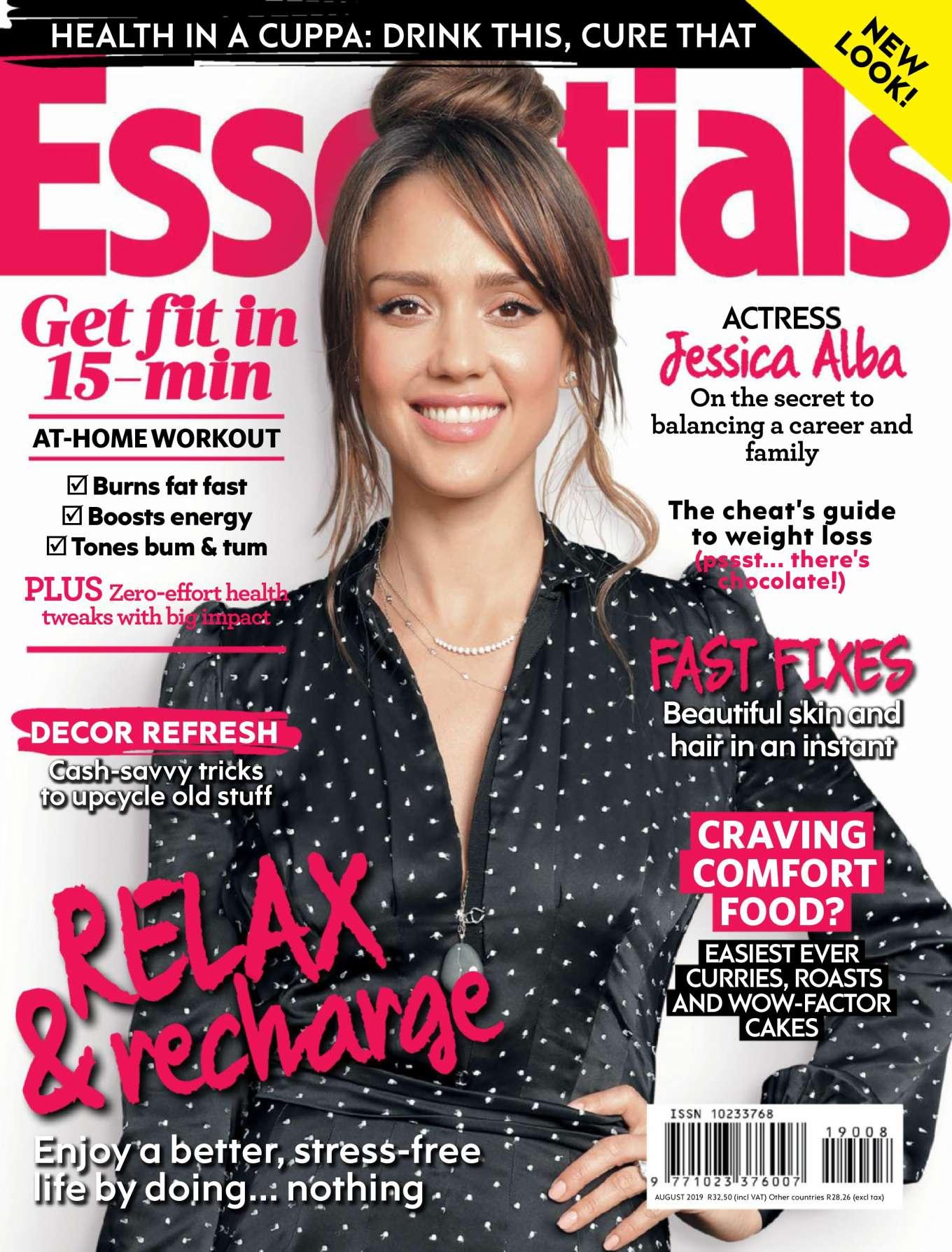 Jessica Alba 2019 : Jessica Alba – Essentials Magazine 2019-03