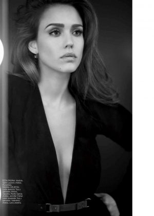 Jessica Alba for Harper's Bazaar Spain (March 2017)