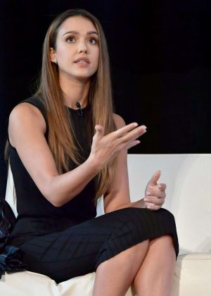 Jessica Alba - Forbes Under 30 Summit In Boston