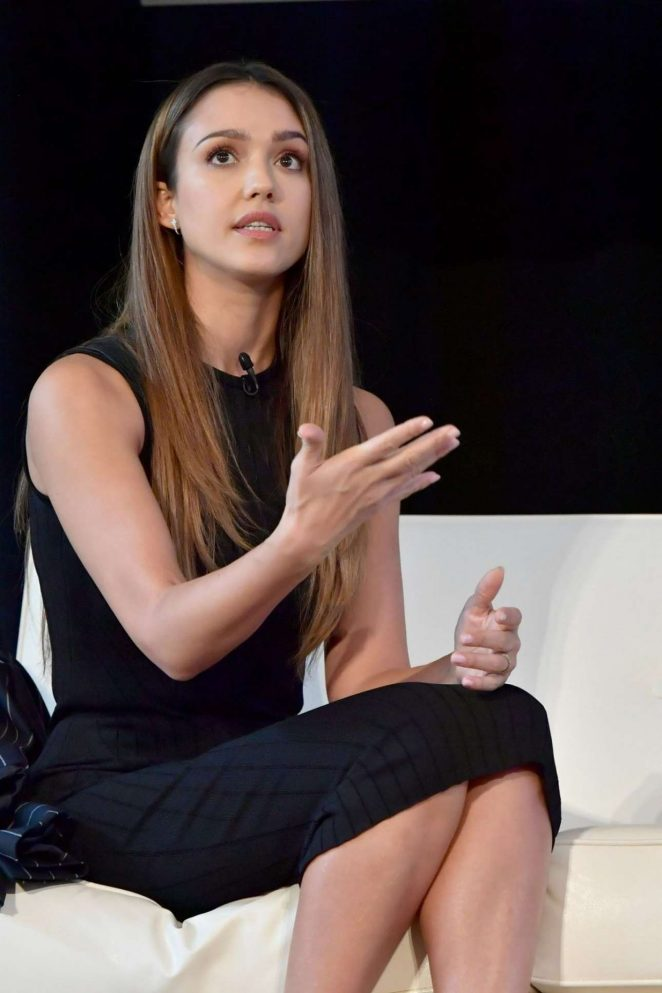 Jessica Alba – Forbes Under 30 Summit In Boston