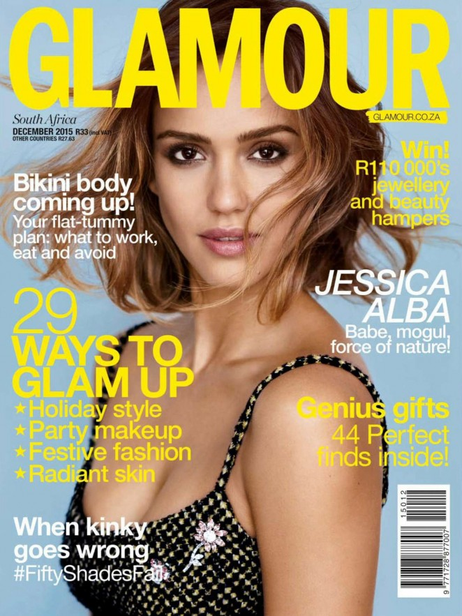 Jessica Alba - Glamour South Africa (December 2015)