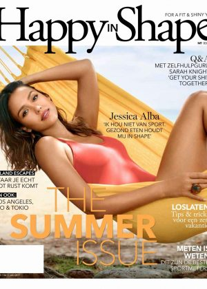 Jessica Alba - Happy in Shape Magazine (May/July 2017)