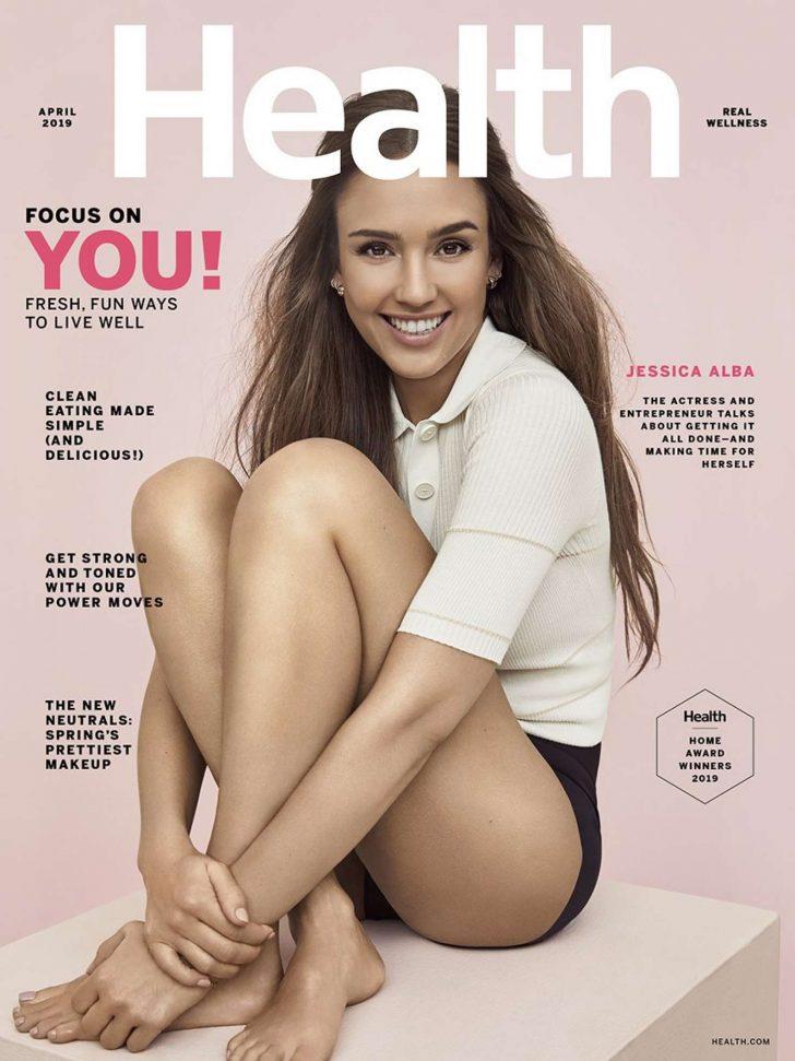 Jessica Alba 2019 : Jessica Alba: Health Magazine 2019 -05
