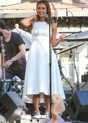 Jessica Alba - Honest Beauty Event at The Grove in LA