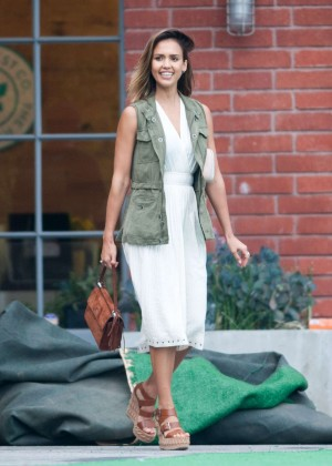 Jessica Alba - Honest Company Summer Office Party in LA