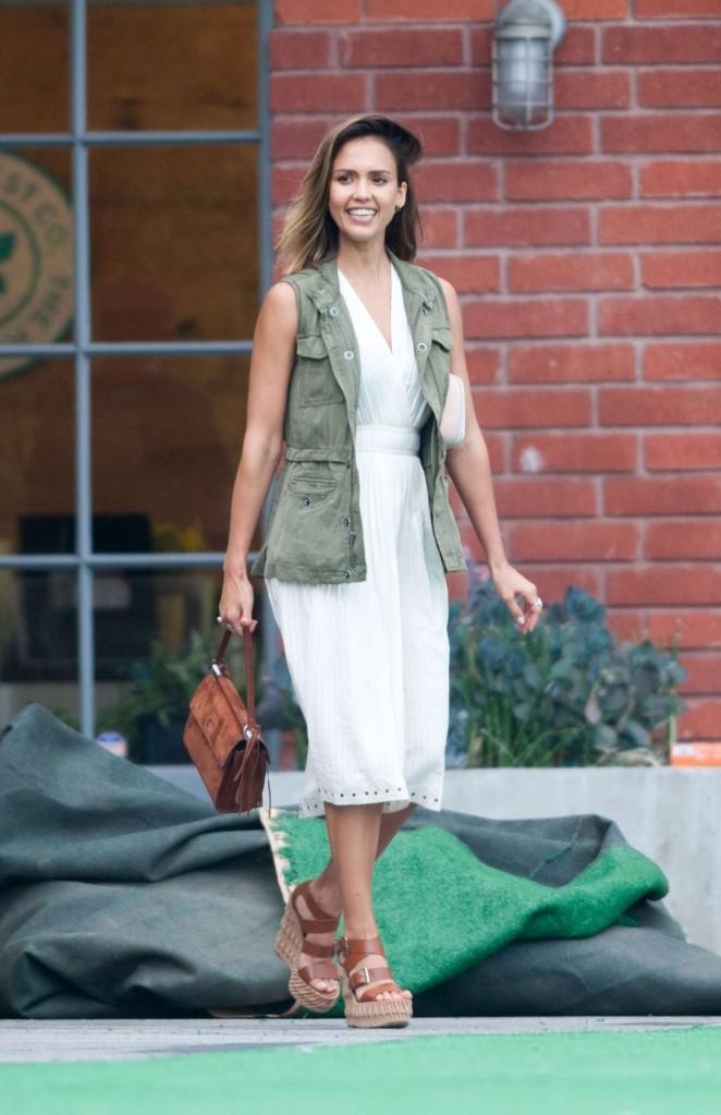 Jessica Alba – Honest Company Summer Office Party in LA