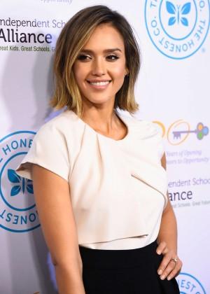 Jessica Alba - Independent School Alliance Impact Awards Dinner in LA