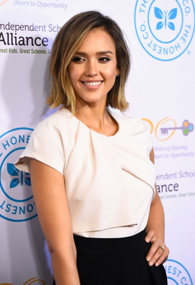 Jessica Alba - Independent School Alliance Impact Awards Dinner in LA