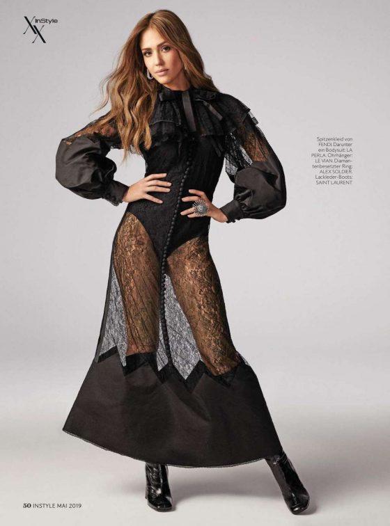 Jessica Alba - InStyle Germany Magazine (May 2019)