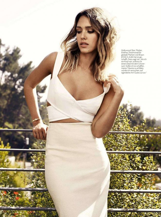 Jessica Alba - InStyle Germany Magazine (October 2016)