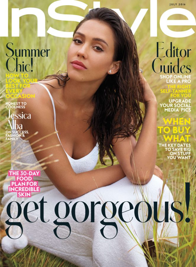 Jessica Alba - Instyle Magazine Cover (July 2016)