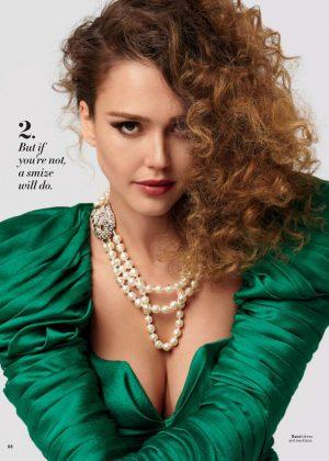 Jessica Alba - InStyle Magazine (July 2018)