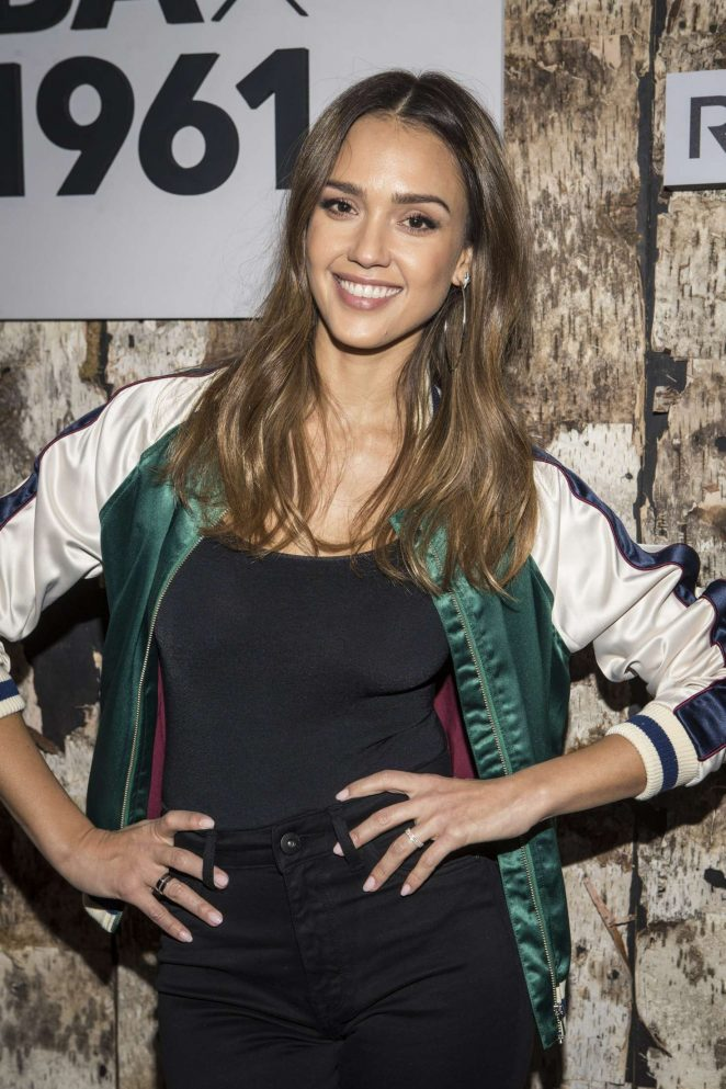 Jessica Alba - Jessica Alba's DL1961 Launch Party in West Hollywood