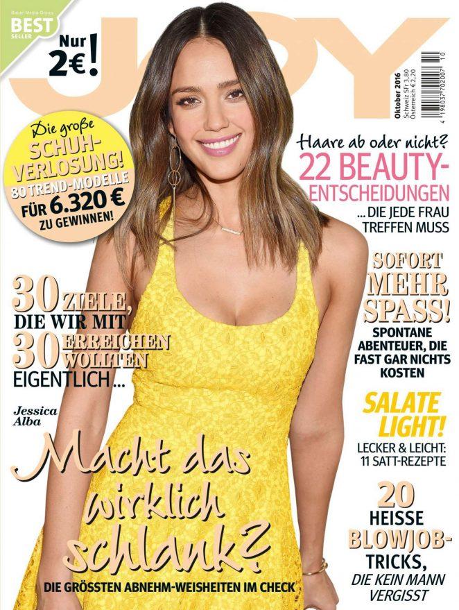 Jessica Alba - JOY Germany Magazine (October 2016)