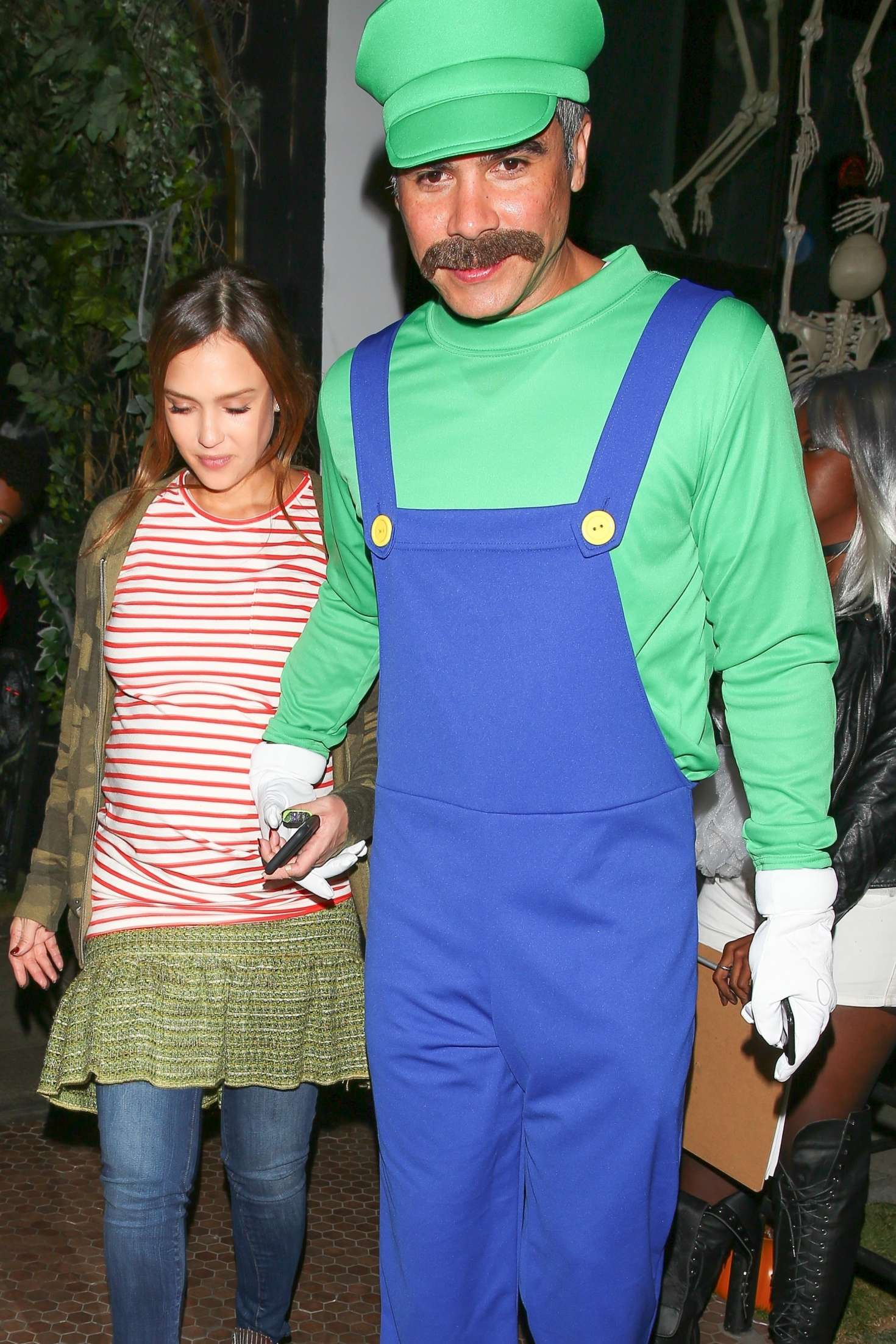 Jessica Alba - Kelly Rowland's Costume Couture Bash in West Hollywood