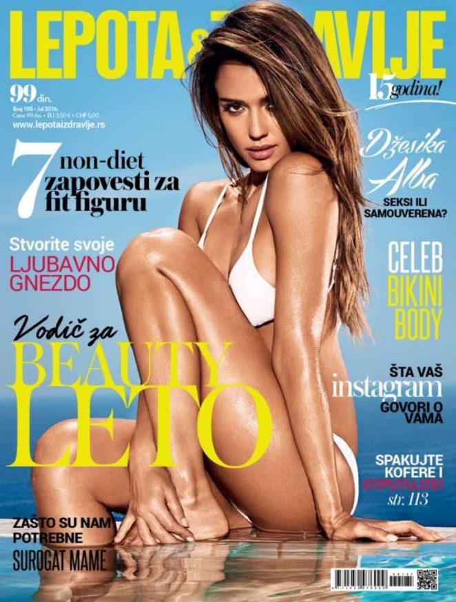 Jessica Alba - Lepota & Zdravlje Magazine Cover (July 2016)