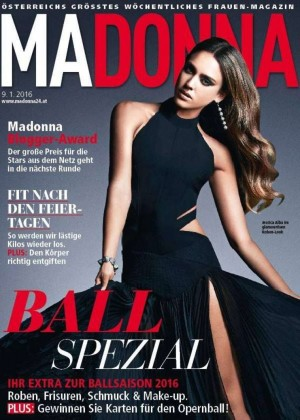 Jessica Alba - Madonna Magazine Cover (January 2016)