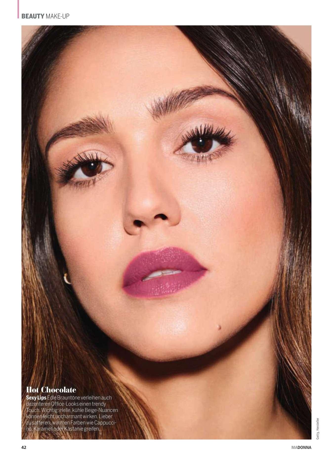 Jessica Alba 2019 : Jessica Alba – Madonna Magazine 2019-01