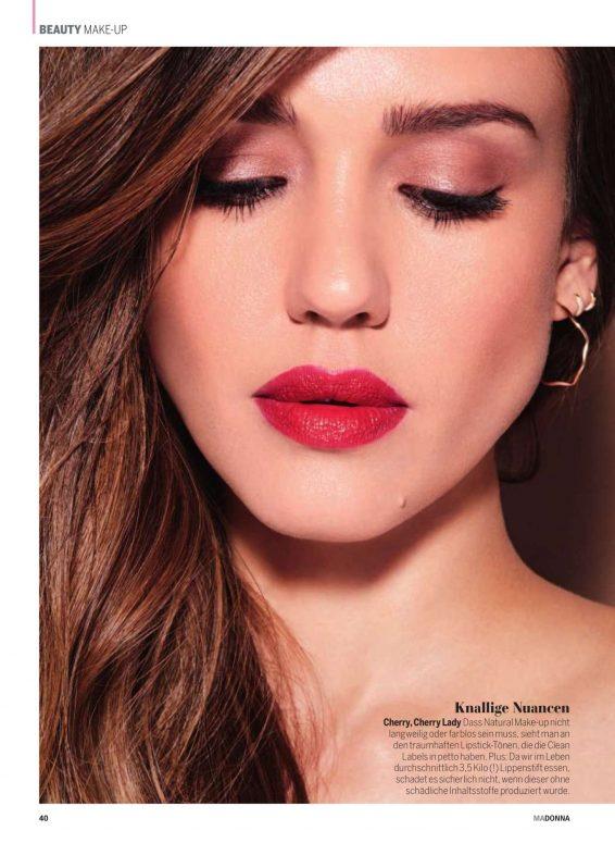 Jessica Alba - Madonna Magazine (July 2019)