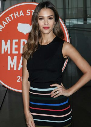 Jessica Alba - Martha Stewart Made in America NY Summit in NYC