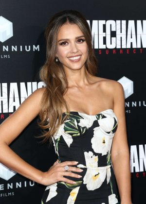 Jessica Alba - 'Mechanic: Resurrection' Premiere in Los Angeles