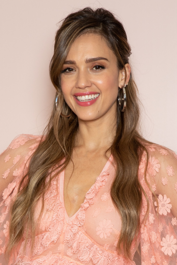 Jessica Alba - Meet and Greet event - Honest Beauty line at Douglas store in Milan