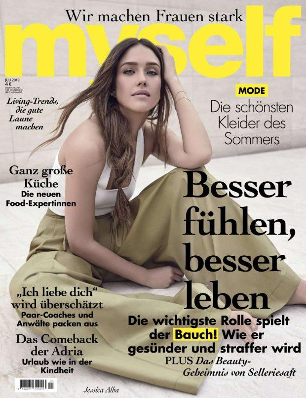 Jessica Alba: myself Magazine 2019-03