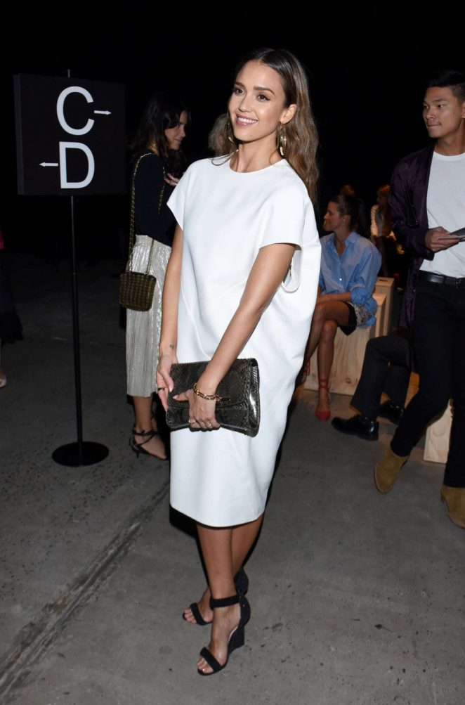 Jessica Alba - Narciso Rodriguez at 2016 New York Fashion Week in NYC