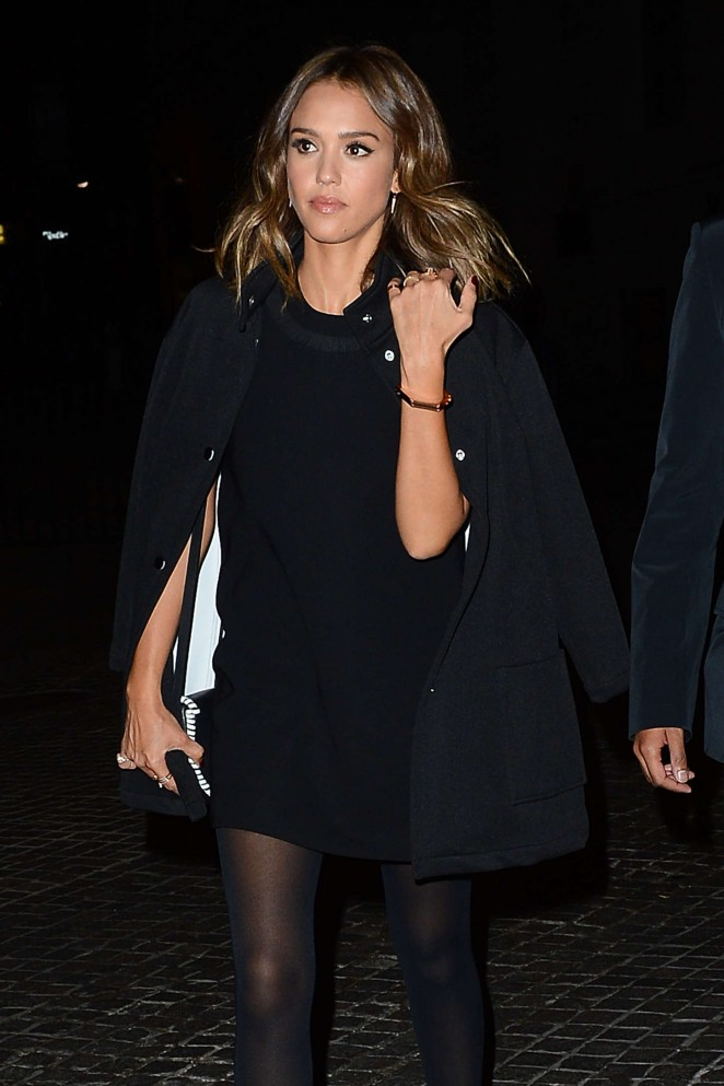 Jessica Alba - New York Fashion Week Opening Ceremony