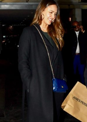 Jessica Alba - Night out in Beverly Hills