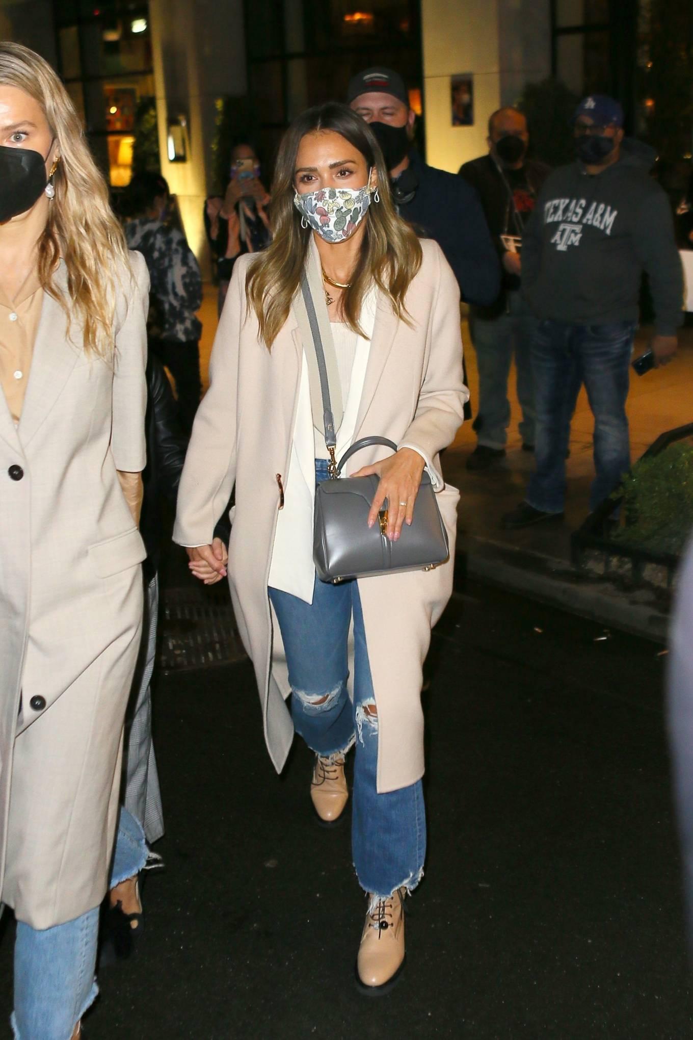 Jessica Alba 2021 : Jessica Alba – Night out in New York City-03