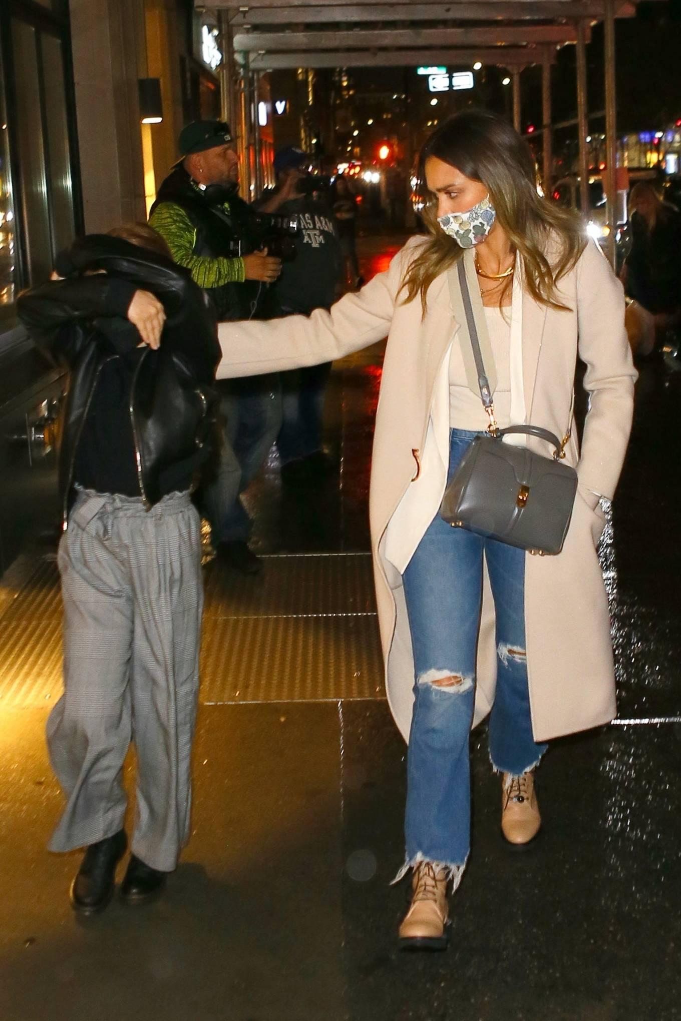 Jessica Alba 2021 : Jessica Alba – Night out in New York City-07